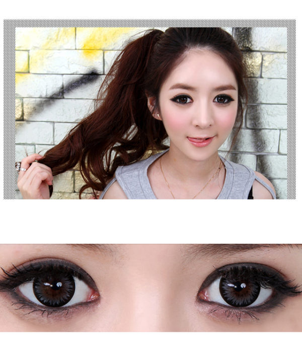 GEO XTRA ASTER WT-C15 GRAY CONTACT LENS