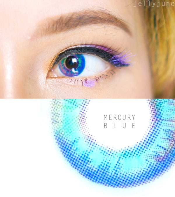 LUNA PRISM MERCURY BLUE SWEETY PLUS DUEBA CONTACT LENS