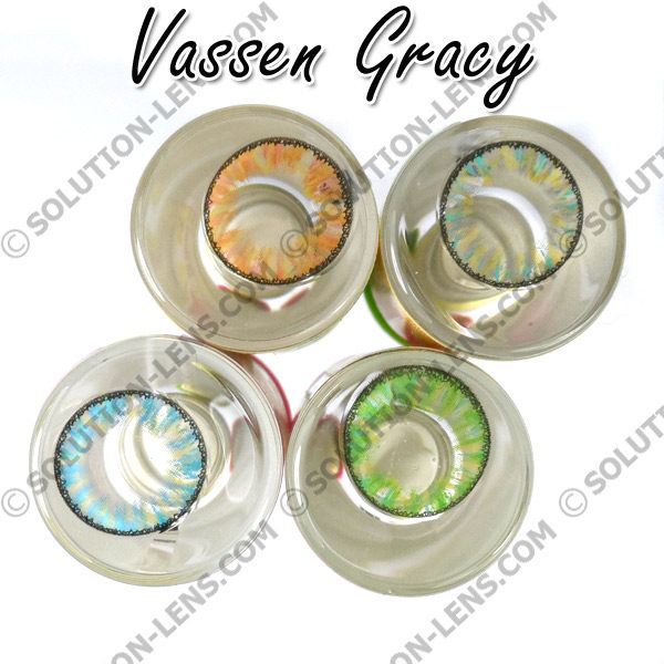 VASSEN GRACY GREEN CONTACT LENS