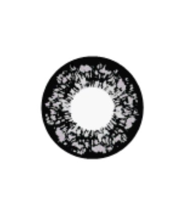 GEO FLOWER PANSY GRAY WT-C65 GRAY CONTACT LENS