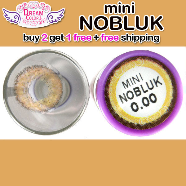 DREAMCON MINI NOBLUK BROWN CONTACT LENS