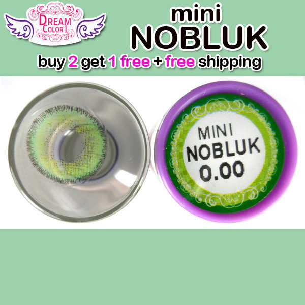 DREAMCON MINI NOBLUK GREEN CONTACT LENS