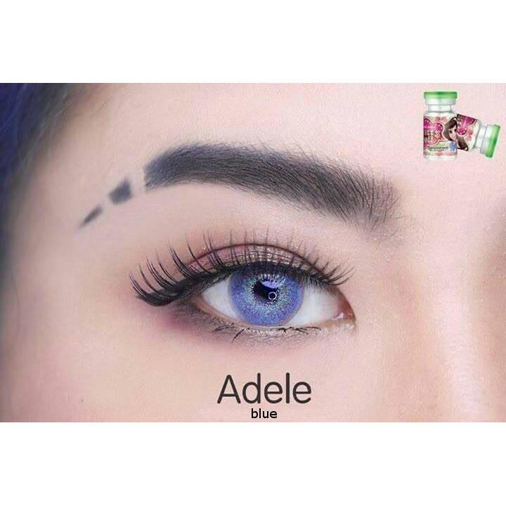 Dueba Adele Blue Contact Lens Solution Lens Com