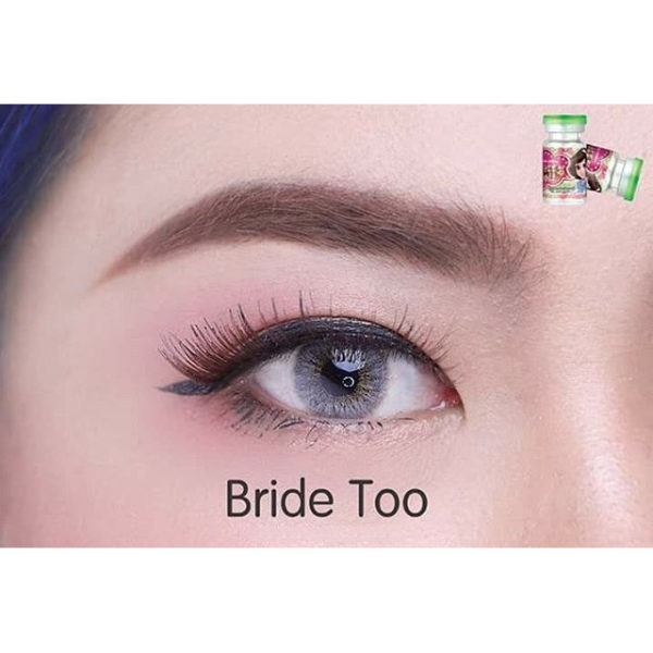 DUEBA BRIDE TOO GRAY CONTACT LENS
