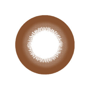 DUEBA BROWNIE BROWN CONTACT LENS