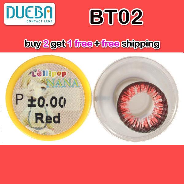 DUEBA BT02 RED CONTACT LENS