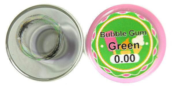DUEBA BUBBLE GUM GREEN CONTACT LENS