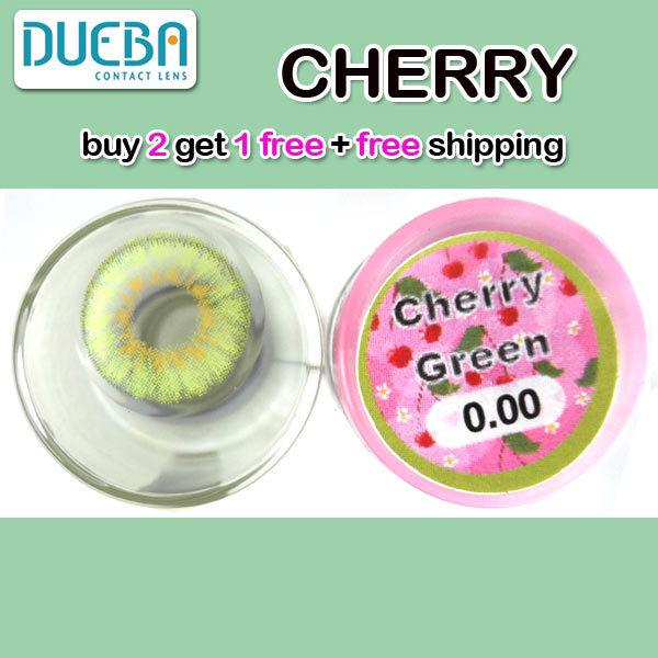 DUEBA CHERRY GREEN CONTACT LENS