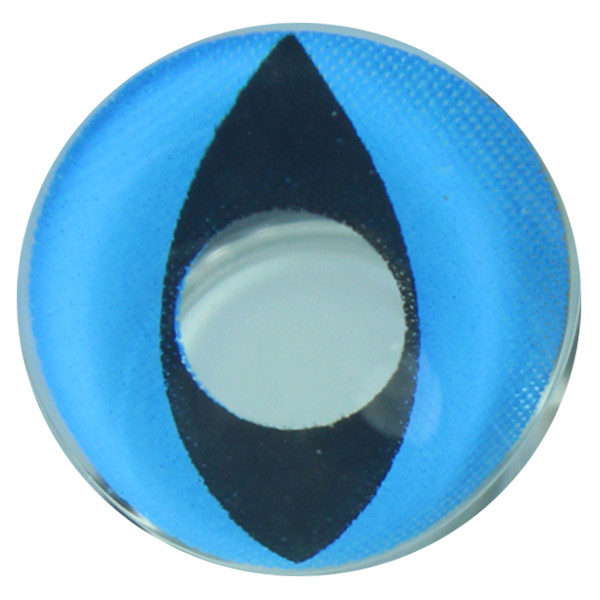 DUEBA COSPLAY LENS BLUE CAT EYES HALLOWEEN CONTACT LENS