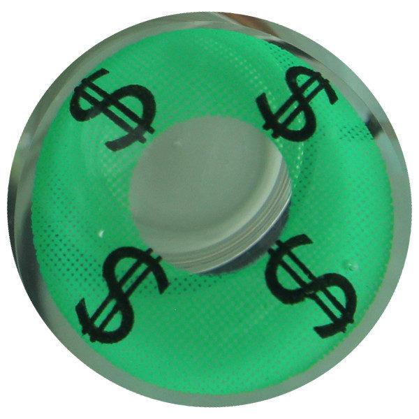 DUEBA COSPLAY CRAZY GREEN DOLLAR HALLOWEEN CONTACT LENS