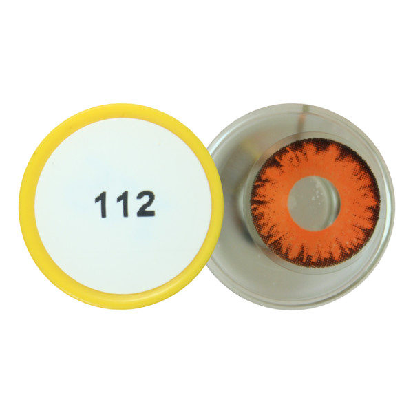 DUEBA COSPLAY LENS RED MONSTER EYES HALLOWEEN CONTACT LENS