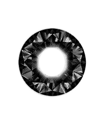 DUEBA DIAMOND BLACK CONTACT LENS