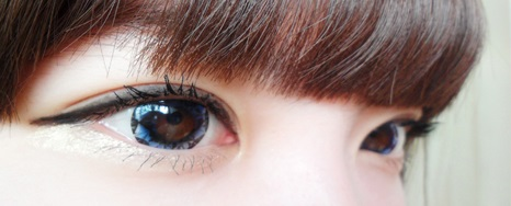 DUEBA DIAMOND BLUE CONTACT LENS