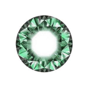 DUEBA DIAMOND GREEN CONTACT LENS