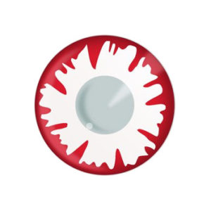 DUEBA FANCY WHITE DEMON HALLOWEEN CONTACT LENS