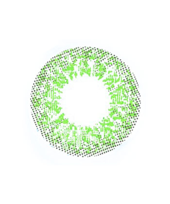 DUEBA FOGGY GREEN CONTACT LENS