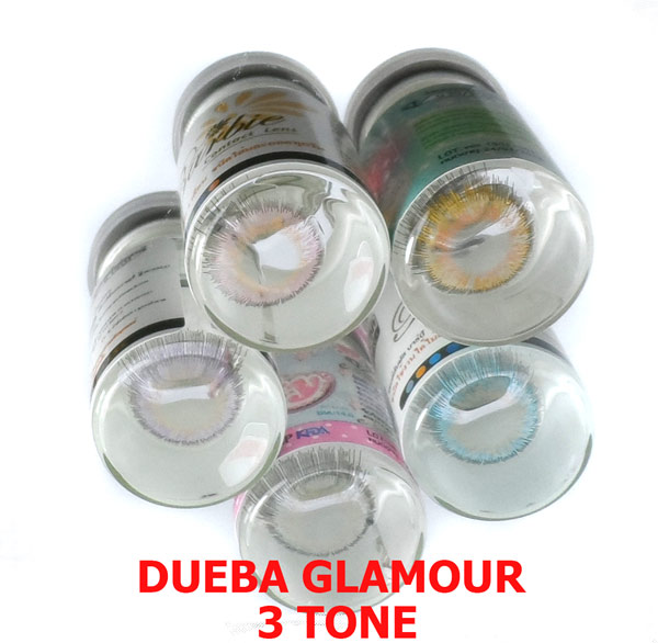 DUEBA GLAMOUR PINK CONTACT LENS