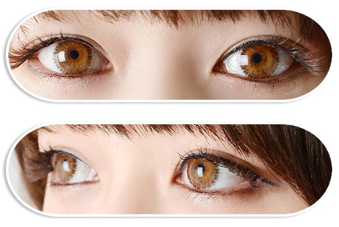 DUEBA GLAMOUR BROWN CONTACT LENS