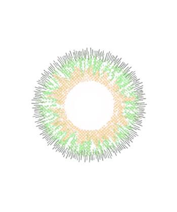 DUEBA GLAMOUR GREEN CONTACT LENS