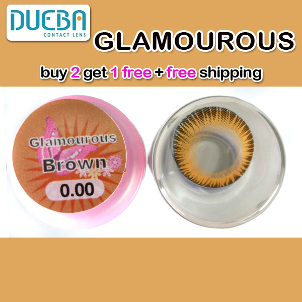 DUEBA GLAMOUROUS BROWN CONTACT LENS