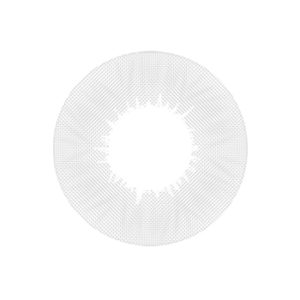 DUEBA HIDROCOR CRYSTAL GRAY CONTACT LENS