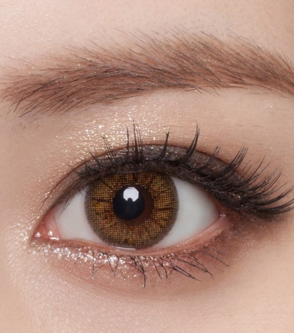 DUEBA ITCHY BROWN CONTACT LENS