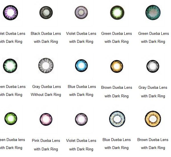 WHOLESALE CONTACT LENS ORDER 50 PAIRS OF CONTACT LENSES