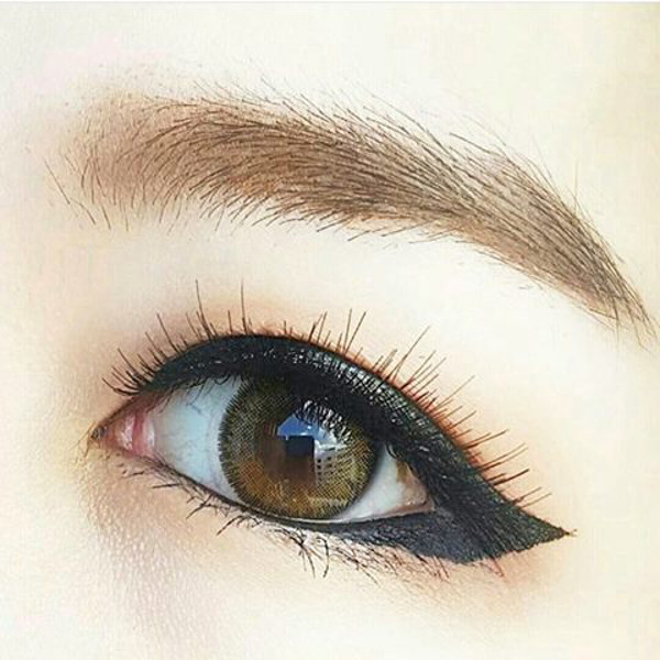 DUEBA LILY BROWN CONTACT LENS