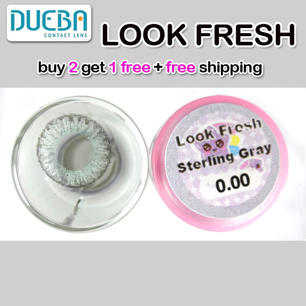 DUEBA LOOK FRESH STERLING GRAY CONTACT LENS