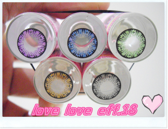 DUEBA HEART LOVE VIOLET CONTACT LENS