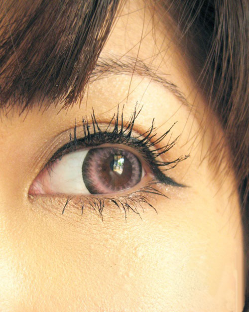 DUEBA PURE PINK CONTACT LENS