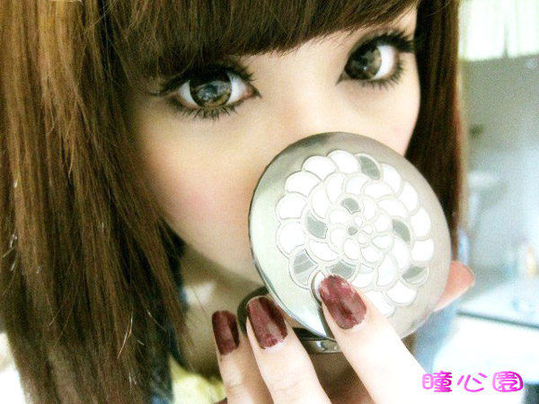 DUEBA MIMO FOREST BROWN CONTACT LENS