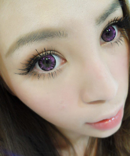 DUEBA MIMO FOREST PINK CONTACT LENS