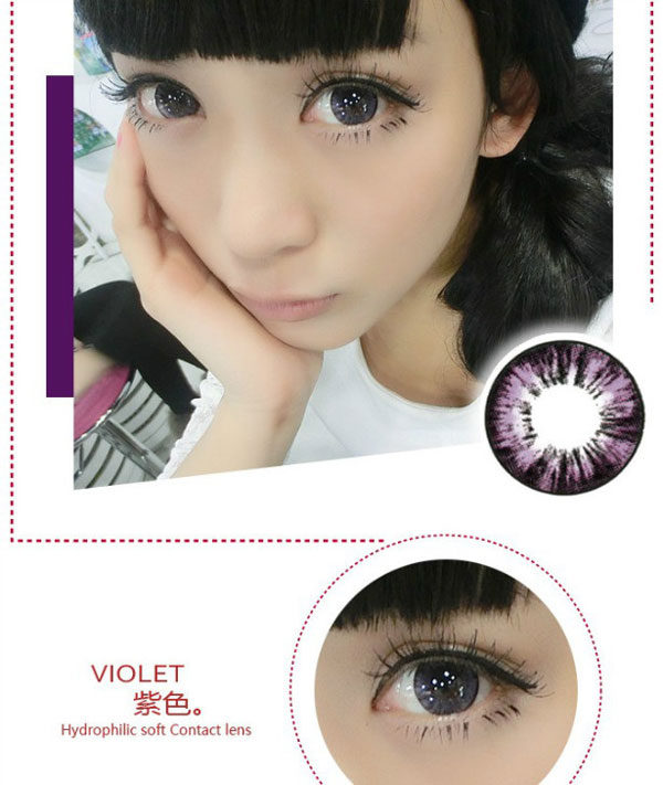 DUEBA MIMO FOREST VIOLET CONTACT LENS