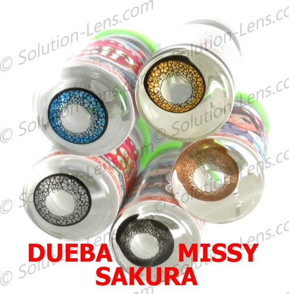 DUEBA MISSY PINK CONTACT LENS