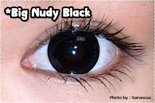 DUEBA SUPER NUDY BLACK CONTACT LENS