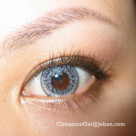 DUEBA SUPER NUDY GRAY CONTACT LENS