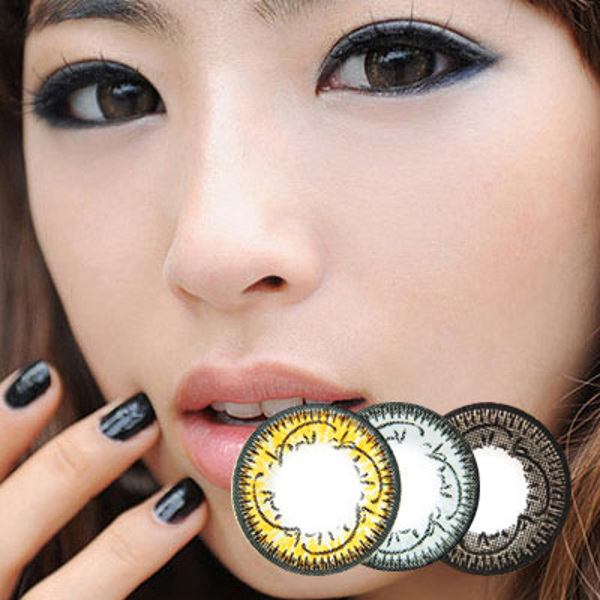 DUEBA ORCHID BROWN CONTACT LENS