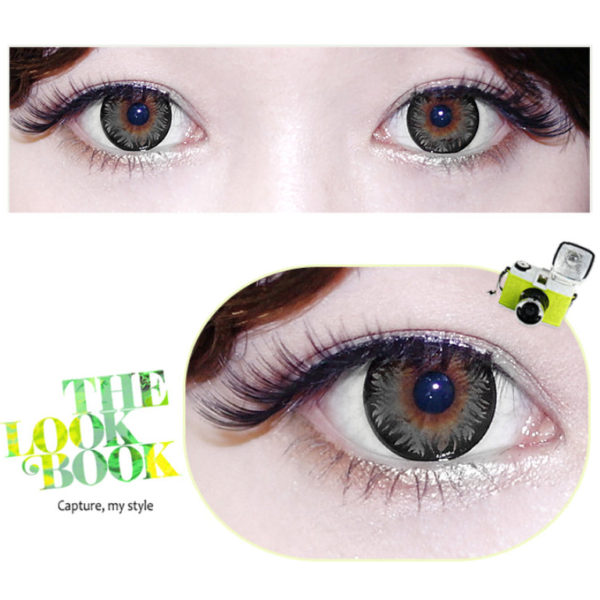 DUEBA PINKY PEARL GRAY CONTACT LENS