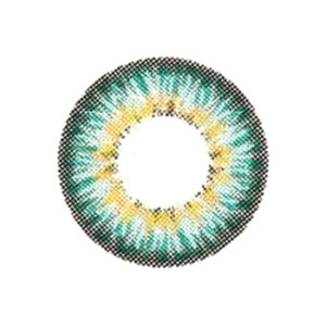 DUEBA PUFFY TURQUOISE CONTACT LENS