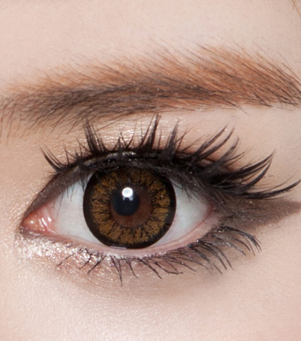 DUEBA QUEEN BROWN CONTACT LENS