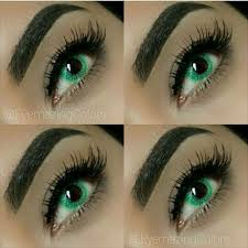 DUEBA SOLANG GREEN CONTACT LENS