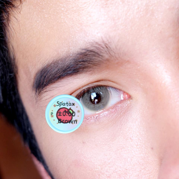 DUEBA SPATAX BROWN CONTACT LENS