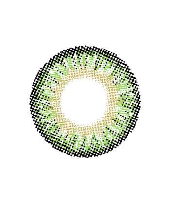 DUEBA SPRITE GREEN CONTACT LENS