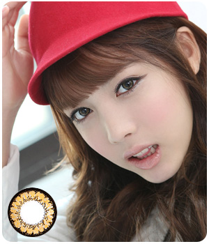 DUEBA SUPER KING BROWN CONTACT LENS