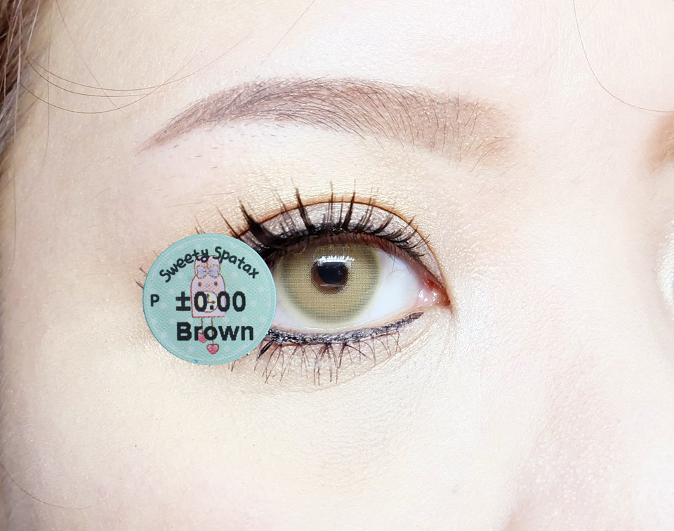 DUEBA SWEETY SPATAX BROWN CONTACT LENS