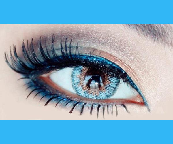 DUEBA VIRGIN BLUE CONTACT LENS