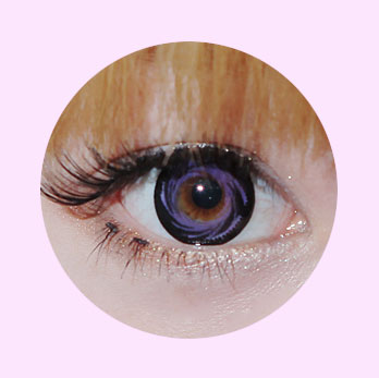 DUEBA WINDY VIOLET CONTACT LENS