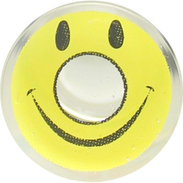 DUEBA CRAZY YELLOW SMILEY HALLOWEEN CONTACT LENS