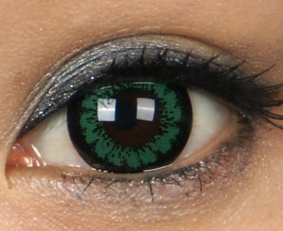 DUEBA KING GREEN CONTACT LENS
